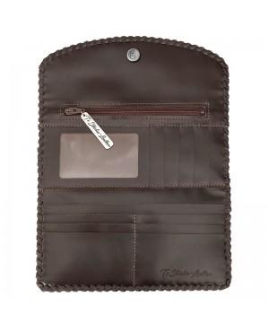 Brown Western Style Womens Wallet