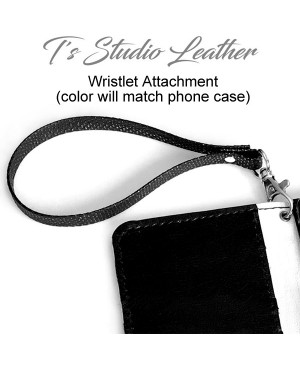 Ts Studio Leather Hand Tooled Phone Case - Tool Leather Western Style floral folio style case