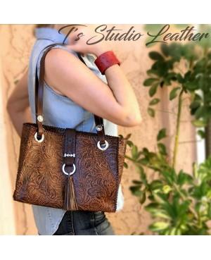 Brown Western Style Womens Handbag